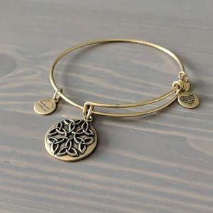 Alex and Ani Endless Knot bracelet